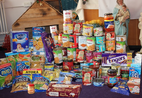 Advent Foodbank Collection